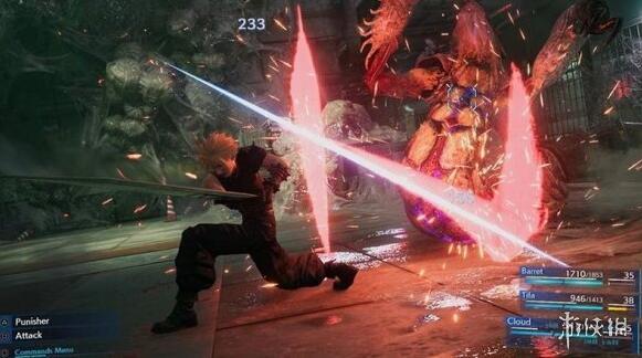 最终幻想7重制版克劳德勇气技能演示视频克劳德技能如何