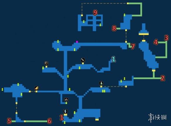 最终幻想勇气启示录纳夏特镇宝箱一览FFBE纳夏特镇地图