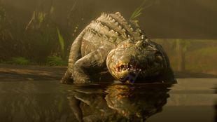 《荒野大镖客2》传说鳄鱼什么时候能杀?传奇鳄鱼介绍