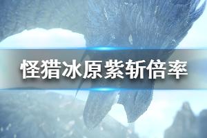 《怪物猎人世界冰原》紫斩攻击力加多少 紫斩倍率一览