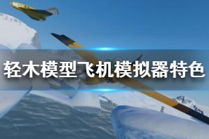 《轻木模型飞机模拟器》好玩吗?游戏特色玩法简单介绍