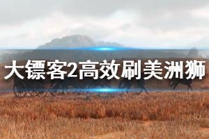 《荒野大镖客2》美洲狮怎么杀?高效刷美洲狮方法视频