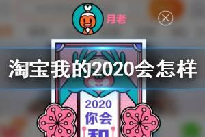 淘宝我的2020会怎样是什么梗 淘宝2019年度盘点关键词查看方法