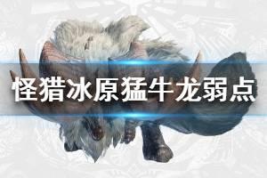 《怪物猎人世界冰原》猛牛龙弱什么属性 猛牛龙弱点属性说明