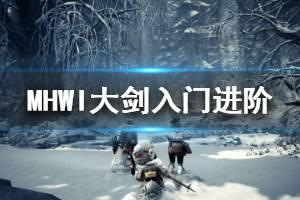 《怪物猎人世界冰原》大剑怎么玩 大剑入门进阶操作技巧分享