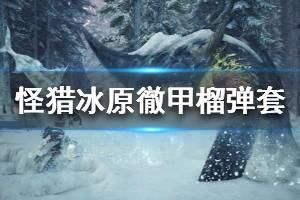 《怪物猎人世界冰原》徹甲榴弹怎么配装 徹甲榴弹套配装推荐