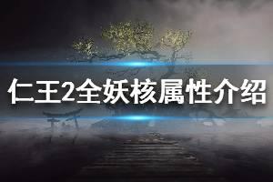 《仁王2》全妖核属性介绍 妖核种类有哪些