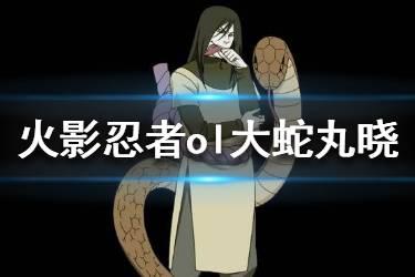 《火影忍者OL》大蛇丸晓技能调整 大蛇丸晓强度提升