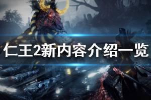 《仁王2》新内容介绍一览 游戏新系统详解
