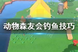《集合啦动物森友会》钓鱼技巧分享 游戏新人怎么钓鱼