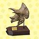 《动物森友会》化石图鉴-三角龙的头