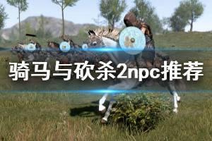 《骑马与砍杀2》npc推荐 什么npc好