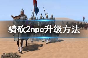 《骑马与砍杀2》npc怎么升级 npc升级方法介绍
