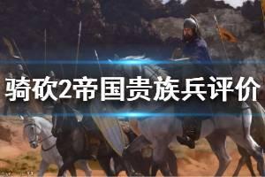 《骑马与砍杀2》帝国贵族兵哪个最强?中后期帝国贵族兵评价