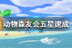 《集合啦动物森友会》五星岛怎么速成 五星小岛速成方法介绍