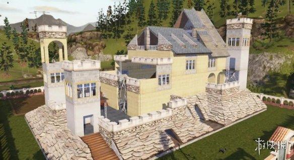 明日之后石堡城石林别墅怎么建造