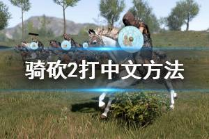 《骑马与砍杀2》怎么打中文 打中文方法一览