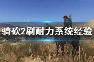 《骑马与砍杀2》耐力有什么用 刷耐力系统经验方法介绍