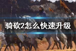 《骑马与砍杀2》怎么快速升级 快速升级方法介绍