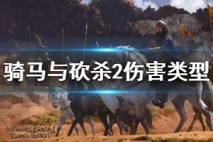 《骑马与砍杀2》伤害种类有哪些 全伤害类型效果一览