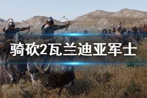 《骑马与砍杀2》瓦兰迪亚军士好用吗 瓦兰迪亚军士强度分析