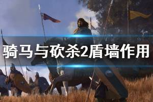 《骑马与砍杀2》盾墙阵型好用吗 步兵盾墙阵型作用介绍