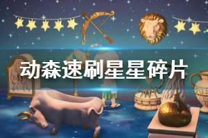 《集合啦动物森友会》星星碎片怎么刷 星星碎片速刷方法介绍