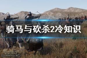 《骑马与砍杀2》冷知识分享 游戏有什么冷知识