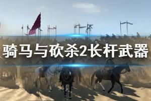 《骑马与砍杀2》长杆武器厉害吗 长杆武器介绍