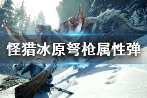 《怪物猎人世界冰原》弩枪属性弹伤害怎么计算 弩枪属性弹伤害计算方法介绍