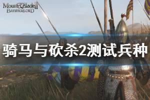 《骑马与砍杀2》测试兵种方法介绍 怎么用代码测试兵种