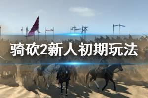 《骑马与砍杀2》新人要注意什么 新人初期玩法分享