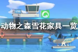 《集合啦动物森友会》雪花家具有哪些 冰雪主题家具一览