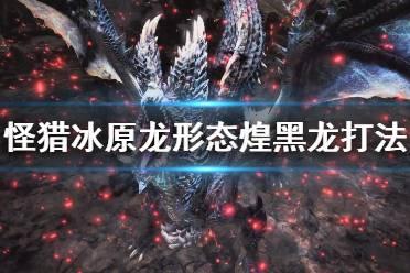 《怪物猎人世界冰原》龙形态煌黑龙怎么打 龙形态打法技巧分享
