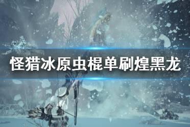 《怪物猎人世界冰原》虫棍怎么打煌黑龙 虫棍单刷煌黑龙打法介绍