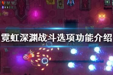《霓虹深渊》战斗选项功能介绍 战斗界面有哪些功能?