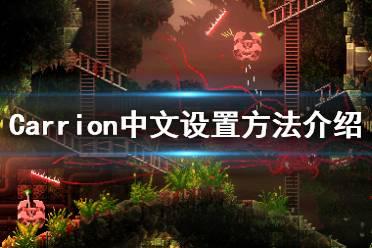 《红怪》怎么设置中文 Carrion中文设置方法介绍