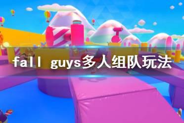 《糖豆人终极淘汰赛》可以双人吗?多人组队玩法简单介绍