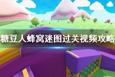 《糖豆人终极淘汰赛》蜂窝迷图过关视频攻略 蜂窝迷图有什么技巧?