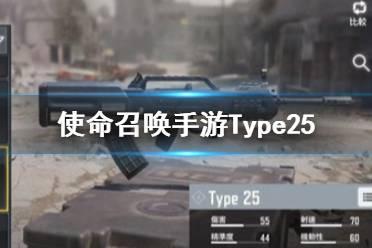 《使命召唤手游》Type25配件怎么选 突击步枪Type25配件搭配攻略
