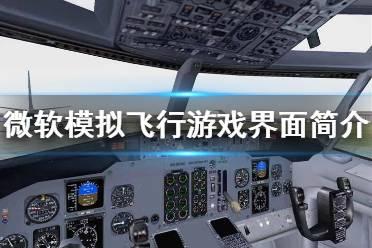 《微软模拟飞行》界面怎么操作 游戏界面简介