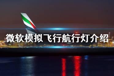 《微软模拟飞行》航行灯是什么 航行灯介绍