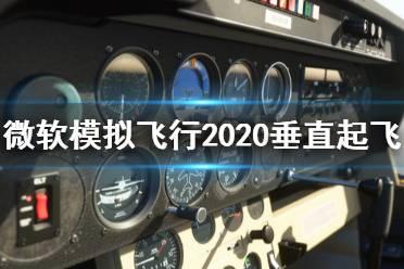 《微软模拟飞行2020》怎么垂直起飞?垂直起飞降落操作技巧