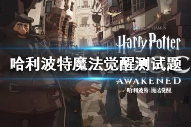 《哈利波特魔法觉醒》分院测试题有哪些 分院测试题目大全