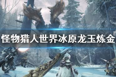 《怪物猎人世界冰原》龙玉怎么炼 龙玉炼金方法