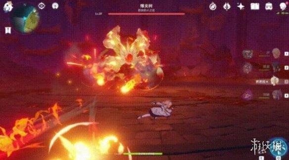 《原神》爆炎树技能攻击方式及打法详解 爆炎树怎么攻击?