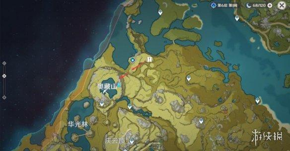《原神》奥藏山宝藏遗迹在哪?奥藏山宝藏遗迹路线分享