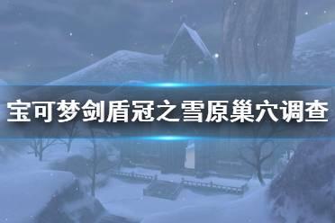 《宝可梦剑盾》冠之雪原新增巢穴调查内容介绍 巢穴调查怎么样?
