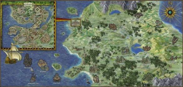 《博德之门3》城市有哪些 城镇地点介绍一览