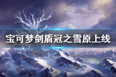 《宝可梦剑盾》冠之雪原什么时候上线 冠之雪原更新时间介绍